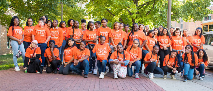 Teen Empowerment Seminar Group Picture