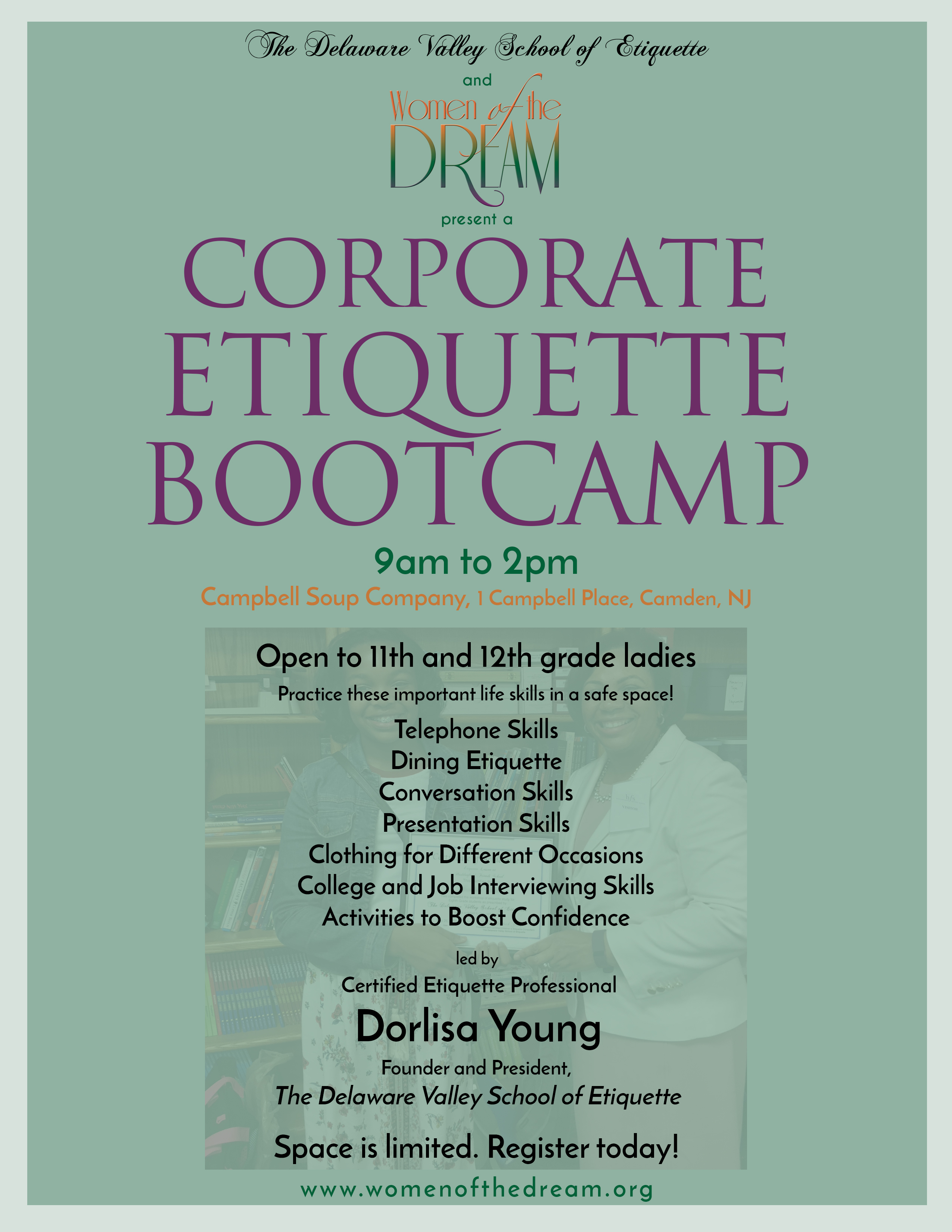 Corporate Bootcamp Flyer